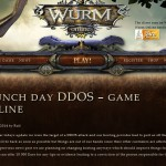 Wurm Online Game offers 10 000 Euro Reward to expose details on DDOS Attack